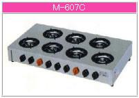 マルゼン ガス式 ガステーブルコンロ《飯城》 M-607C【代引き不可】【業務用 ガスコンロ】【テーブルコンロ】