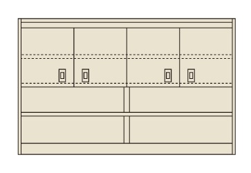 ピットイン上部架台 PN-8HMCK【代引き不可】