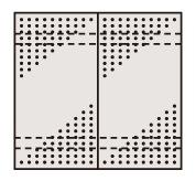 ステンレスパンチングウォールシステム PO-452LSU4【代引き不可】