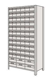 物品棚LEK型樹脂ボックス LEK2114-72T【代引き不可】