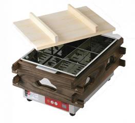 マイコン 電気おでん鍋 CVS-6D (6ツ切)【代引き不可】【【業務用厨房機器厨房用品専門店】【おでん鍋】【業務用おでん鍋 電気式】【エイシン】