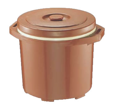 プラスチック保温食缶ごはん用 DF-R1(大) 【食品用コンテナー】【保温コンテナー】【保冷コンテナー】【業務用厨房機器厨房用品専門店】