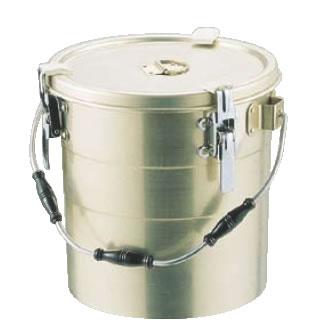 アルマイト 丸型二重クリップ付食缶 239 (12l)【給食】【仕出し】【業務用厨房機器厨房用品専門店】