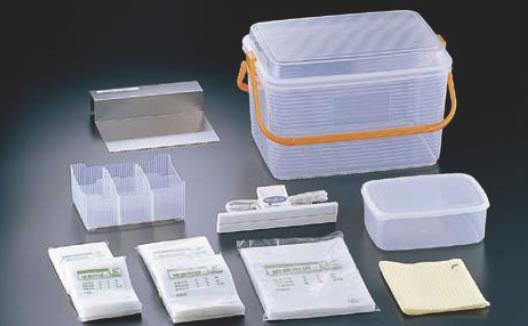 密封式検食袋基本セット HXS-010【代引き不可】【業務用厨房機器厨房用品専門店】