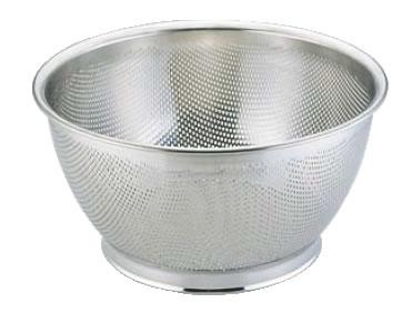 UK18-8パンチング深型ざる 30cm【ステンレスザル】【パンチングザル】【水切り】【業務用厨房機器厨房用品専門店】