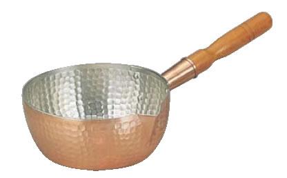 銅製雪平鍋 24cm【銅片手鍋】【銅雪平鍋】【業務用鍋】【業務用厨房機器厨房用品専門店】