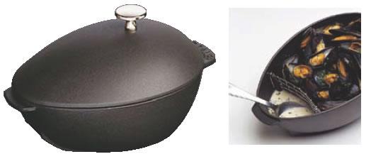 ストウブ ムール貝鍋 1102523【staub】【業務用厨房機器厨房用品専門店】