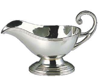 厨房用品専門店 通常便なら送料無料 超特価 UK18-8FハンドルB渕ソースポット 中 320cc 業務用厨房機器厨房用品専門店 グレイビーボード グレイビーポット ステンレス