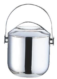 UK 18-8アイスペール 3L【氷入れ】【ステンレス】【アイスバスケット】【バー用品】【業務用厨房機器厨房用品専門店】