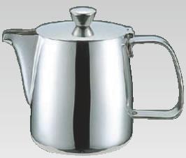 UK18-8Bタイプ型コーヒーポット 1000cc【ステンレスティーポット】【業務用厨房機器厨房用品専門店】