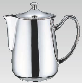 UK18-8プレスト シリーズ コーヒーポット 3~5人用【ステンレスティーポット】【業務用厨房機器厨房用品専門店】