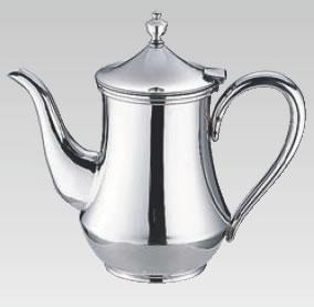 ES 18-8ダイヤ型コーヒーポット 7人用【ステンレスティーポット】【業務用厨房機器厨房用品専門店】