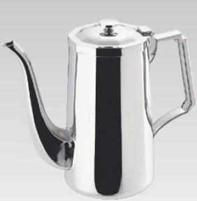 セール 厨房用品専門店 SW18-8角型コーヒーポット 3人用 業務用厨房機器厨房用品専門店 気質アップ ステンレスティーポット