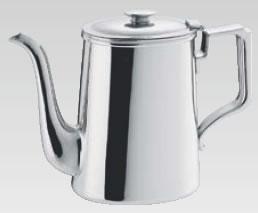SW18-8小判型コーヒーポット 8人用【ステンレスティーポット】【業務用厨房機器厨房用品専門店】