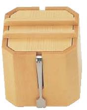 木製 がり入れ 小 W-709【調味料入れ】【調味料ストッカー】【業務用厨房機器厨房用品専門店】