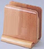 ■お得な10個セット■木製 ナフキン立 ナチュラル M40-568【ナフキンスタンド】【ナフキン立て】【業務用厨房機器厨房用品専門店】■お得な10個セット■