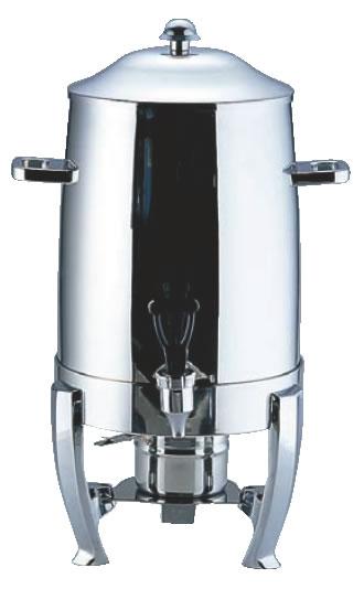 UK18-8コーヒーアーン 10501 (固形用ランプ付)【代引き不可】【バイキング ビュッフェ】【バンケットウェア】【皿】【18-8ステンレス】【業務用厨房機器厨房用品専門店】