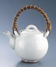 粉引 土瓶 H-010 大(4合)【土瓶】【お茶入れ】【急須】【業務用厨房機器厨房用品専門店】