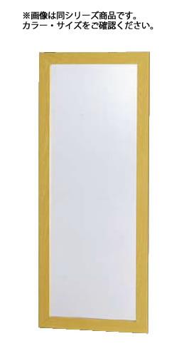 防災ミラー L(割れないクン) ブラウン【鏡】【業務用厨房機器厨房用品専門店】