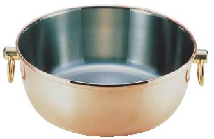 ロイヤル クラデックス しゃぶしゃぶ鍋 銅メッキ CQCW-240C 【IH対応】【業務用厨房機器厨房用品専門店】
