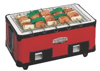 バーベキューコンロ(角型)【炭火焼き】【業務用厨房機器厨房用品専門店】