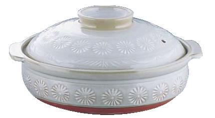 三島 土鍋 S-505 10号 】【料理演出用品】【和食卓上鍋 鍋用小物】【業務用厨房機器厨房用品専門店】