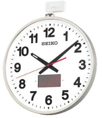 セイコー 電波ソーラー屋外型クロック SF211S【代引き不可】【掛け時計】【掛時計】【ウォールクロック】【業務用厨房機器厨房用品専門店】