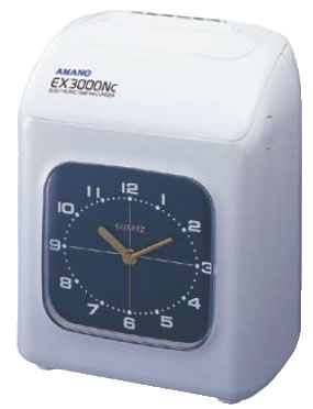 電子タイムレコーダー EX3000NC【代引き不可】【タイムカード打刻機】【業務用厨房機器厨房用品専門店】