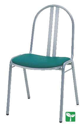 パイプチェアー SCS-2311・R (AL-01O)【代引き不可】【いす】【イス】【ダイニングチェア】【レストランイス】【飲食店椅子】【業務用厨房機器厨房用品専門店】