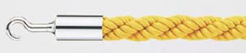パーティションロープ Aタイプ 30C イエロー【通行止め】【進入禁止】【業務用厨房機器厨房用品専門店】
