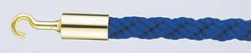パーティションロープ Aタイプ 30B ブルー【通行止め】【進入禁止】【業務用厨房機器厨房用品専門店】