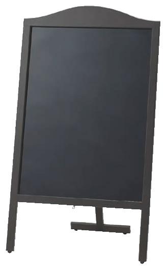 マーカー用木製スタンド黒板 山型 YBD90-1【代引き不可】【案内看板】【案内プレート】【販売板】【業務用厨房機器厨房用品専門店】