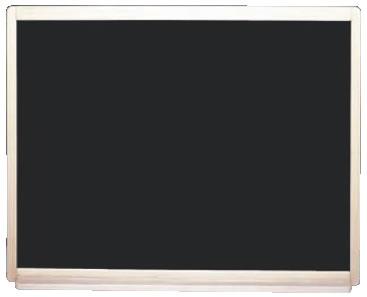 ウットー マーカー(ボード) ブラック WO-MB456【案内看板】【案内プレート】【販売板】【業務用厨房機器厨房用品専門店】