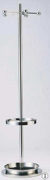 SAコートハンガー SC-1650 (傘立付)【代引き不可】【遠藤商事】【ハンガー】【服掛け】【業務用厨房機器厨房用品専門店】