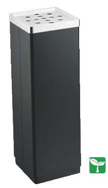 スモーキングスタンド YS-106B (黒)【灰皿】【外用灰皿】【スタンド灰皿】【業務用厨房機器厨房用品専門店】