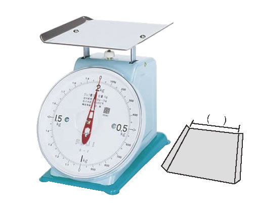 20kg デカO型 【業務用】 【重量計】 【計量器】 フジ 上皿自動ハカリ (平皿付) 【測量器】