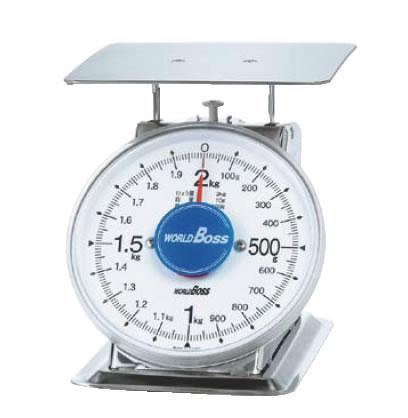 サビないステンレス上皿秤 SA-2S 2kg【計量器】【重量計】【測量器】【業務用厨房機器厨房用品専門店】