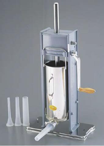 ソーセージフィーラー No.7V(縦型) (21700)【代引き不可】【ウィンナーメーカー】【ケーシング用品】【業務用厨房機器厨房用品専門店】