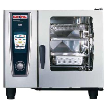 電気式スチームコンベクションオーブン セルフクッキング SCC61【代引き不可】【業務用厨房機器厨房用品専門店】