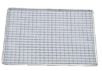 亜鉛引 使い捨て網 正角型(200枚入) S-22【金網】【業務用厨房機器厨房用品専門店】