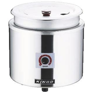 KINGO 湯煎式電気スープジャー D9001 11L【スープウォーマー】【フードウォーマー】【業務用厨房機器厨房用品専門店】