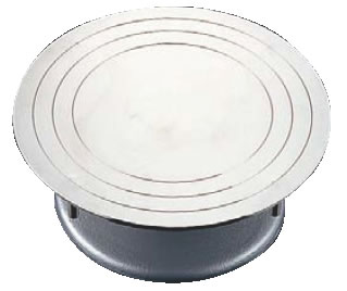 ステン デコ回転台 24cm【ケーキ用品】【製菓用品】【業務用厨房機器厨房用品専門店】