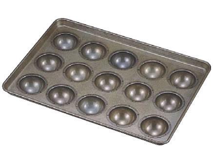 シリコン加工 わん型天板 80高型 (15ヶ取)【シリコン型】【製菓用品】【業務用厨房機器厨房用品専門店】