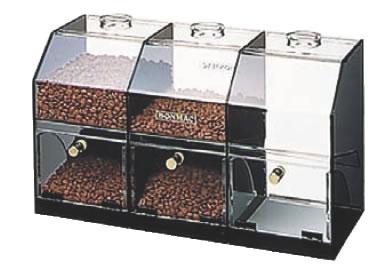 ボンマック コーヒーケース S-3 【珈琲ミル 珈琲グラインダー】【喫茶用品 珈琲用品】【コーヒーマシン コーヒー用品】【BONMAC】【業務用厨房機器厨房用品専門店】