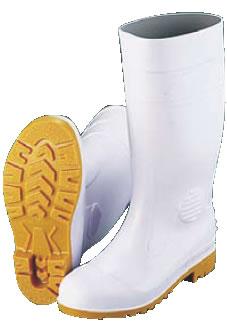 ミドリ 安全長靴ワークエースW1000 白(耐油性)25.5cm【長靴】【厨房用】【調理場用】【業務用厨房機器厨房用品専門店】