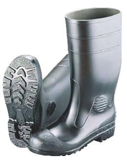 ミドリ 安全長靴ワークエースW1000 黒(耐油性) 24cm【長靴】【厨房用】【調理場用】【業務用厨房機器厨房用品専門店】