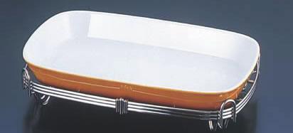 TKG18-8角アストラル スタンドセット 茶 44-1011-44B【代引き不可】【バイキング ビュッフェ】【バンケットウェア】【盛器 大皿】【スタンド】【飾り台】【業務用厨房機器厨房用品専門店】