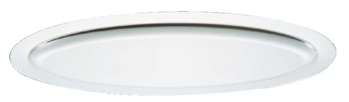 UK18-8プレーンタイプ魚皿 26インチ【バイキング ビュッフェ】【バンケットウェア】【皿】【18-8ステンレス】【業務用厨房機器厨房用品専門店】