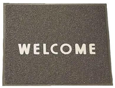 3M 文字入マット WELCOME 茶【清掃道具 掃除道具】【玄関マット】【業務用厨房機器厨房用品専門店】