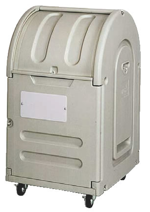 エコランドステーションボックス #300C キャスター付 【代引き不可】【ゴミ箱 ジャンボペールボックス】【ダストカート ゴミステーション】【業務用厨房機器厨房用品専門店】